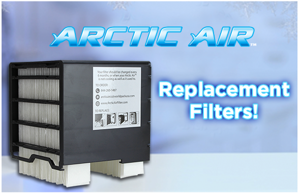 Arctic Air Replacement Filters Quick Amp Easy Way To Cool